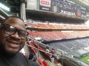 Booker T attended Houston Texans vs. New England Patriots - NFL on Nov 22nd 2020 via VetTix