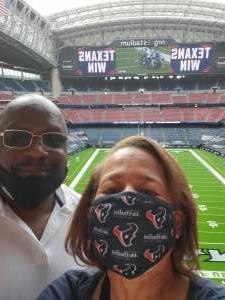 MissP attended Houston Texans vs. New England Patriots - NFL on Nov 22nd 2020 via VetTix