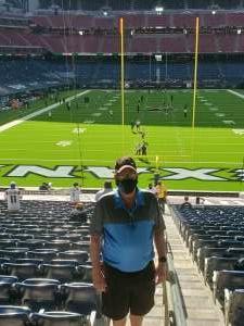 Terry attended Houston Texans vs. New England Patriots - NFL on Nov 22nd 2020 via VetTix