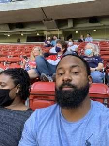 Vonte attended Houston Texans vs. New England Patriots - NFL on Nov 22nd 2020 via VetTix