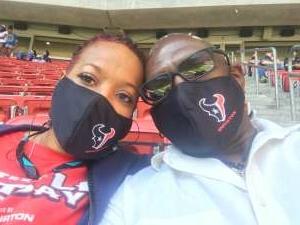 Barry C attended Houston Texans vs. New England Patriots - NFL on Nov 22nd 2020 via VetTix