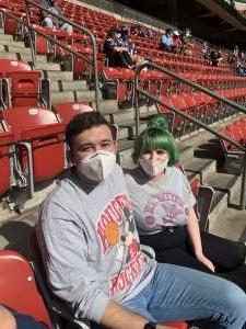 Drew  attended Houston Texans vs. New England Patriots - NFL on Nov 22nd 2020 via VetTix