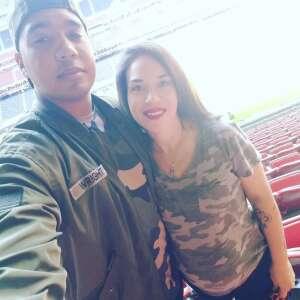 Krystalle Wright attended Houston Texans vs. New England Patriots - NFL on Nov 22nd 2020 via VetTix