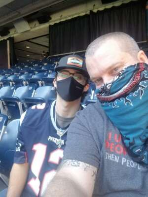 Cody attended Houston Texans vs. New England Patriots - NFL on Nov 22nd 2020 via VetTix