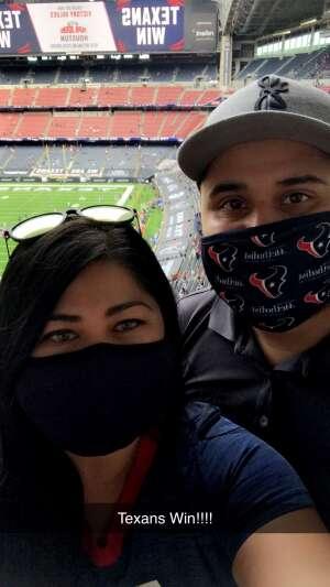 JSaenz attended Houston Texans vs. New England Patriots - NFL on Nov 22nd 2020 via VetTix
