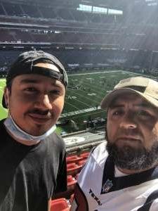 Alejandro attended Houston Texans vs. New England Patriots - NFL on Nov 22nd 2020 via VetTix