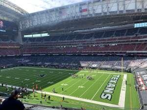 Carlos attended Houston Texans vs. New England Patriots - NFL on Nov 22nd 2020 via VetTix