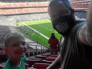 Alan attended Houston Texans vs. New England Patriots - NFL on Nov 22nd 2020 via VetTix