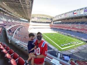 pileckid attended Houston Texans vs. New England Patriots - NFL on Nov 22nd 2020 via VetTix
