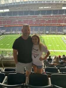 Kurt and Jannah Mersiovsky attended Houston Texans vs. New England Patriots - NFL on Nov 22nd 2020 via VetTix