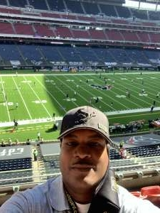 Carl attended Houston Texans vs. New England Patriots - NFL on Nov 22nd 2020 via VetTix