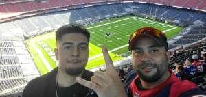Roland attended Houston Texans vs. New England Patriots - NFL on Nov 22nd 2020 via VetTix