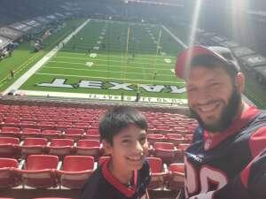 Brian attended Houston Texans vs. New England Patriots - NFL on Nov 22nd 2020 via VetTix