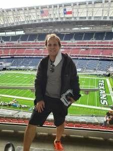 Greg attended Houston Texans vs. New England Patriots - NFL on Nov 22nd 2020 via VetTix