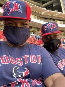 Jonesy  attended Houston Texans vs. New England Patriots - NFL on Nov 22nd 2020 via VetTix