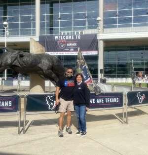 Jesus attended Houston Texans vs. New England Patriots - NFL on Nov 22nd 2020 via VetTix