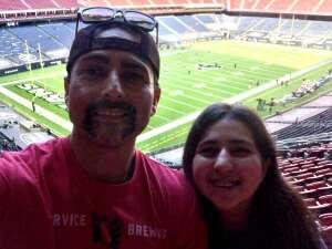 Robert  attended Houston Texans vs. New England Patriots - NFL on Nov 22nd 2020 via VetTix