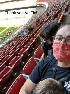 HowardFam attended Houston Texans vs. New England Patriots - NFL on Nov 22nd 2020 via VetTix