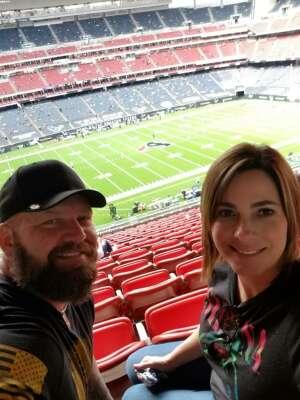 Jeffery Joseph Kowalik attended Houston Texans vs. New England Patriots - NFL on Nov 22nd 2020 via VetTix