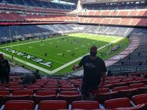 Dennis attended Houston Texans vs. New England Patriots - NFL on Nov 22nd 2020 via VetTix