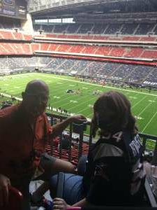 Bill and Nicole attended Houston Texans vs. New England Patriots - NFL on Nov 22nd 2020 via VetTix