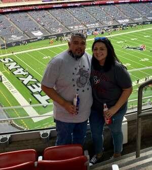 Joe Marin attended Houston Texans vs. New England Patriots - NFL on Nov 22nd 2020 via VetTix