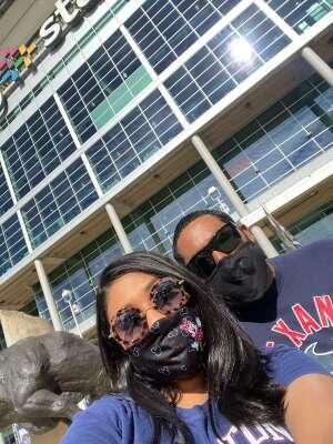 Nick attended Houston Texans vs. New England Patriots - NFL on Nov 22nd 2020 via VetTix