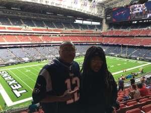 TG attended Houston Texans vs. New England Patriots - NFL on Nov 22nd 2020 via VetTix