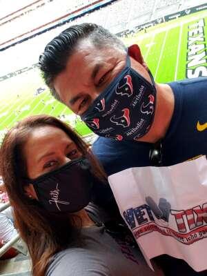 NAVY- AOC attended Houston Texans vs. New England Patriots - NFL on Nov 22nd 2020 via VetTix
