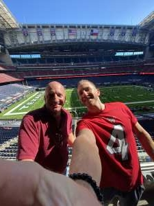 Michael M. attended Houston Texans vs. New England Patriots - NFL on Nov 22nd 2020 via VetTix