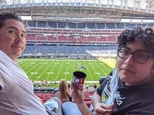 Adrian attended Houston Texans vs. New England Patriots - NFL on Nov 22nd 2020 via VetTix
