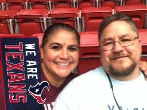 Carlos Garcia attended Houston Texans vs. New England Patriots - NFL on Nov 22nd 2020 via VetTix