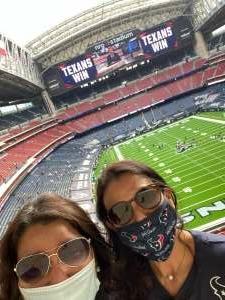 Hahn attended Houston Texans vs. New England Patriots - NFL on Nov 22nd 2020 via VetTix