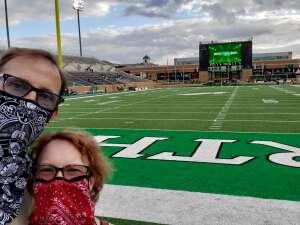 Darren Bullard  attended North Texas vs. Rice University - NCAA on Nov 21st 2020 via VetTix