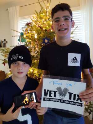 Payne fam attended Virtual Show of Princeton Symphony Orchestra - Holiday Pops! on Dec 6th 2020 via VetTix
