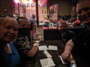 Zimm Fam attended Family Magic & Comedy for All Ages on Dec 5th 2020 via VetTix