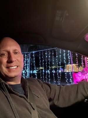 Brett attended Christmas Lights in LA on Dec 2nd 2020 via VetTix