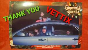 Thank You Vettix donors, attended Christmas Lights in LA on Dec 2nd 2020 via VetTix