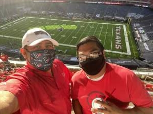 Abraham attended Houston Texans vs. Indianapolis Colts - NFL on Dec 6th 2020 via VetTix