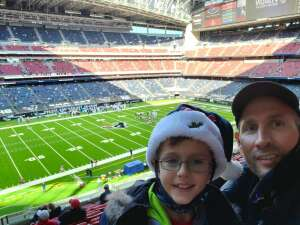 Kipp attended Houston Texans vs. Indianapolis Colts - NFL on Dec 6th 2020 via VetTix