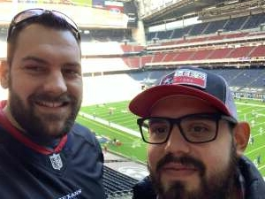 Brad Bowen attended Houston Texans vs. Indianapolis Colts - NFL on Dec 6th 2020 via VetTix