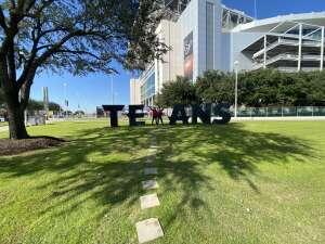 Nick attended Houston Texans vs. Indianapolis Colts - NFL on Dec 6th 2020 via VetTix
