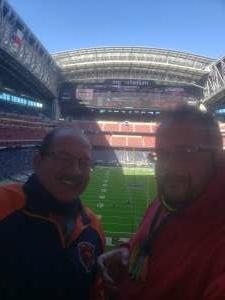 Josh attended Houston Texans vs. Indianapolis Colts - NFL on Dec 6th 2020 via VetTix