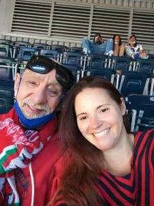 Sylvie attended Houston Texans vs. Indianapolis Colts - NFL on Dec 6th 2020 via VetTix