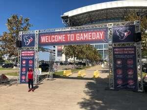 SSgt Nagina Stoddart attended Houston Texans vs. Indianapolis Colts - NFL on Dec 6th 2020 via VetTix