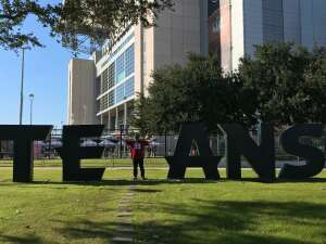 Reginald D. Walker attended Houston Texans vs. Indianapolis Colts - NFL on Dec 6th 2020 via VetTix