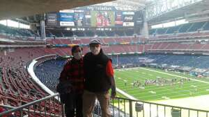 Fred + Yasue attended Houston Texans vs. Indianapolis Colts - NFL on Dec 6th 2020 via VetTix