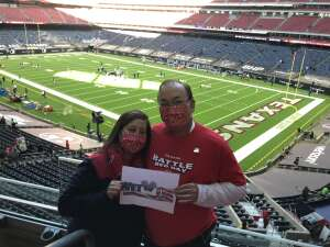 The Don attended Houston Texans vs. Indianapolis Colts - NFL on Dec 6th 2020 via VetTix