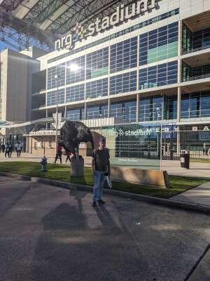 Chris attended Houston Texans vs. Indianapolis Colts - NFL on Dec 6th 2020 via VetTix