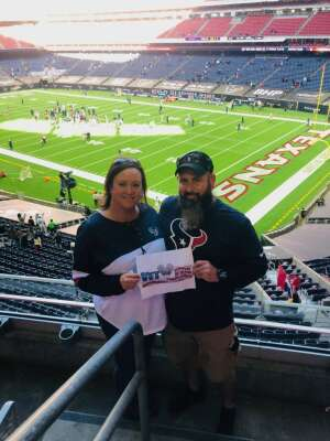 LICK attended Houston Texans vs. Indianapolis Colts - NFL on Dec 6th 2020 via VetTix